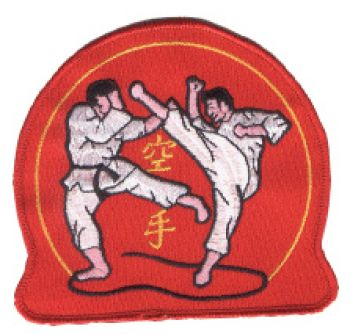 patch Shotokan tiger - Kopie