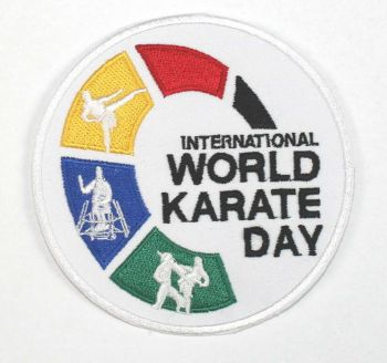 patch World Karate Day 2017