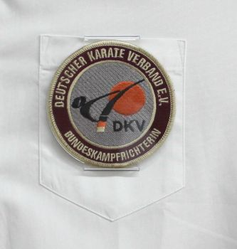 badge holder that can be pinned on round