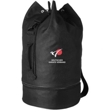 kit bag embroidered with the logo of DKV round form