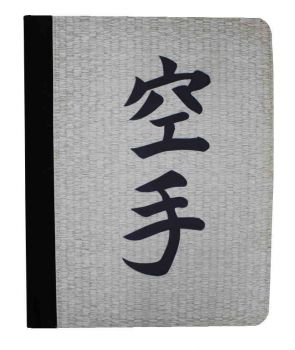 desk pad with karate characters