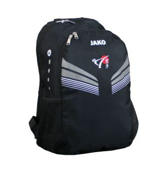 backpack Pro with the logo of DKV