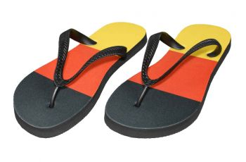 flip flops Zoris with the logo of DKV - Kopie