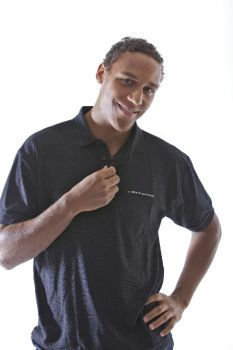 Polo shirt for men with german flag and DKV