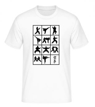 t shirt Evolution Karate
