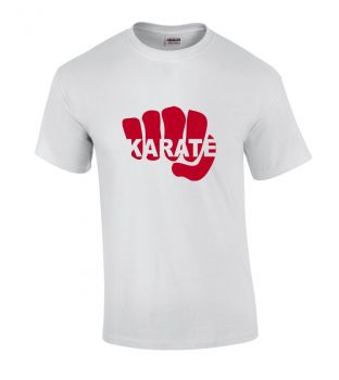 T-Shirt Karate Faust