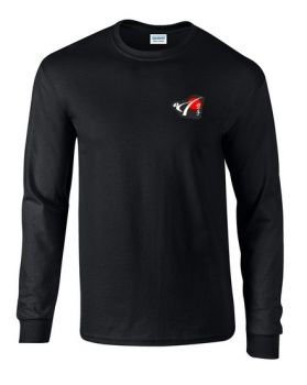 t shirt with the logo of DKV long sleeved