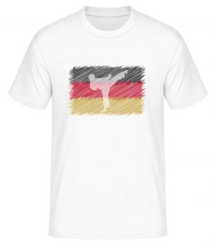 DKV t-shirt with round german flag - Kopie