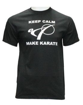 t-shirt Keep Calm Make Karate