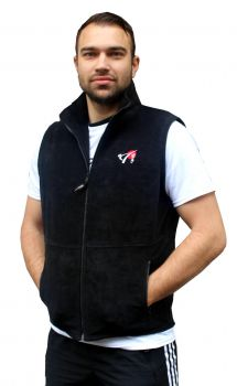Fleece Bodywarmer mit DKV Logo