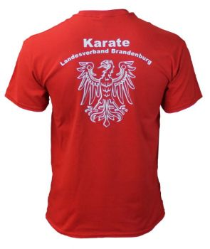 t shirt Brandenburg red