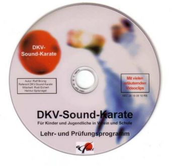 DVD DKV sound karate plan
