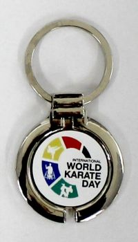 porte-clés World Karate Day 2017