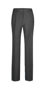 womens trousers in grey with high waistband