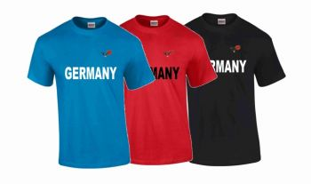 T-Shirt Germany mit DKV Logo