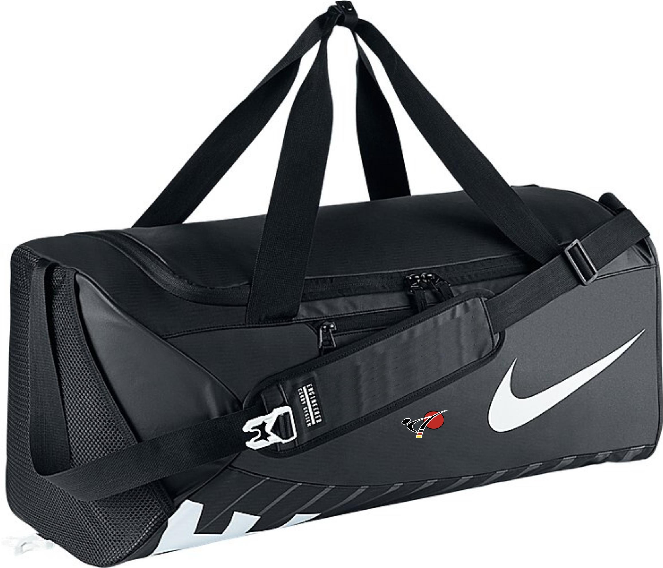 nike sporttasche mit dkv logo ausr stung f r karate. Black Bedroom Furniture Sets. Home Design Ideas