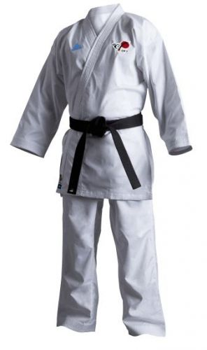 adidas Kumite karate suit REVOFLEX with the logo of DKV