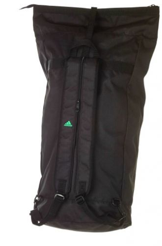 adidas seabag with the logo of DKV in neon green