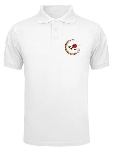 DKV polo shirt with round german flag