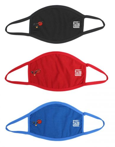 Mouth-nose mask cotton with DKV logo for adults and children