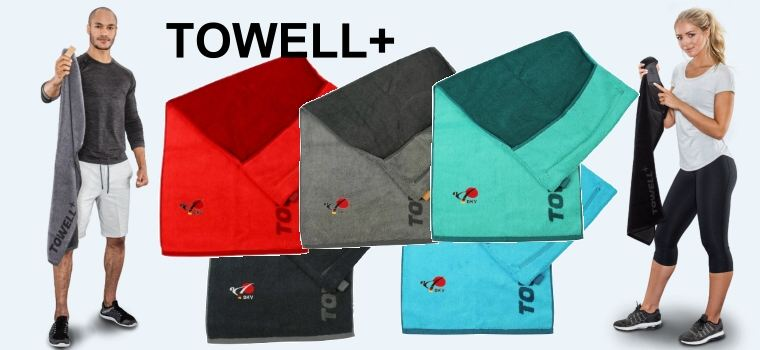 Towell Plus Handtuch mit DKV Logo